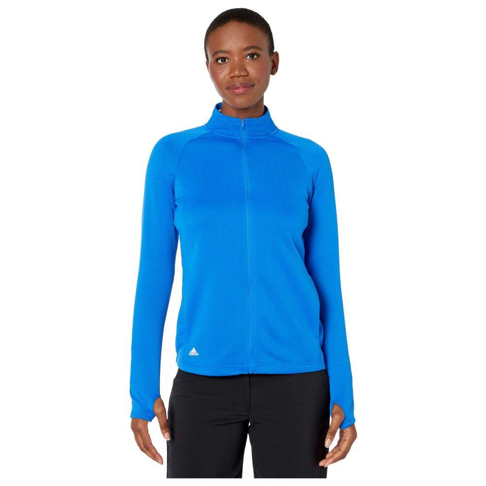 アディダス adidas Golf レディース ジャケット アウター【Textured Layer Jacket】Glory Blue