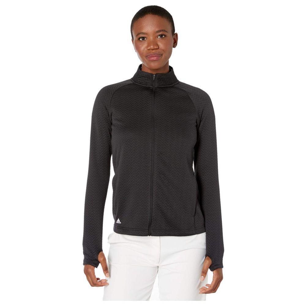 アディダス adidas Golf レディース ジャケット アウター【Textured Layer Jacket】Black