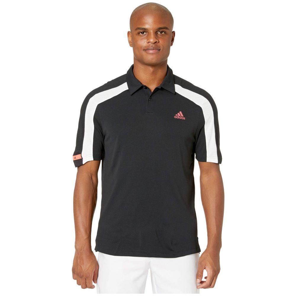 アディダス adidas Golf メンズ ポロシャツ トップス【Sport Heat.Rdy Polo Shirt】Black