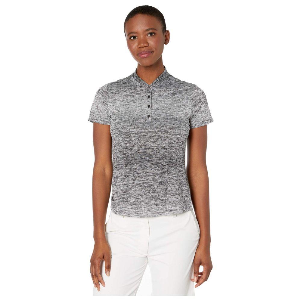 アディダス adidas Golf レディース ポロシャツ トップス【Gradient Polo Shirt】White/Black