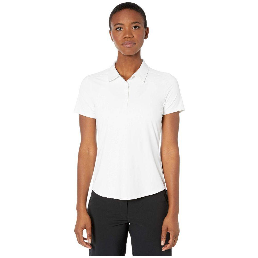 アディダス adidas Golf レディース ポロシャツ 半袖 トップス【Ultimate365 Short Sleeve Polo】White