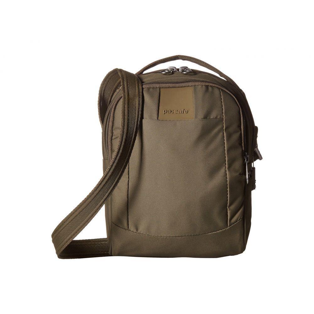 パックセーフ Pacsafe レディース ショルダーバッグ バッグ【Metrosafe LS100 Anti-Theft Crossbody Bag】Earth Khaki