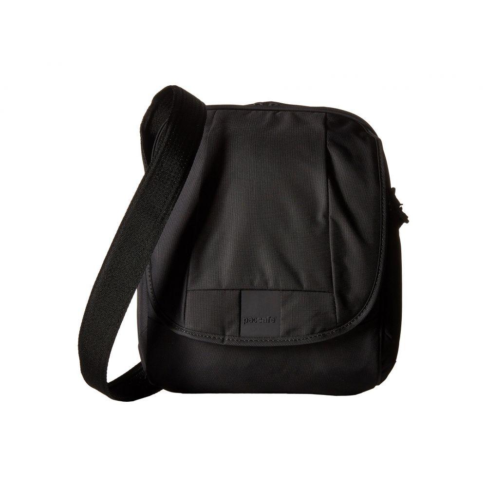 パックセーフ Pacsafe レディース ショルダーバッグ バッグ【Metrosafe LS200 Anti-Theft Shoulder Bag】Black