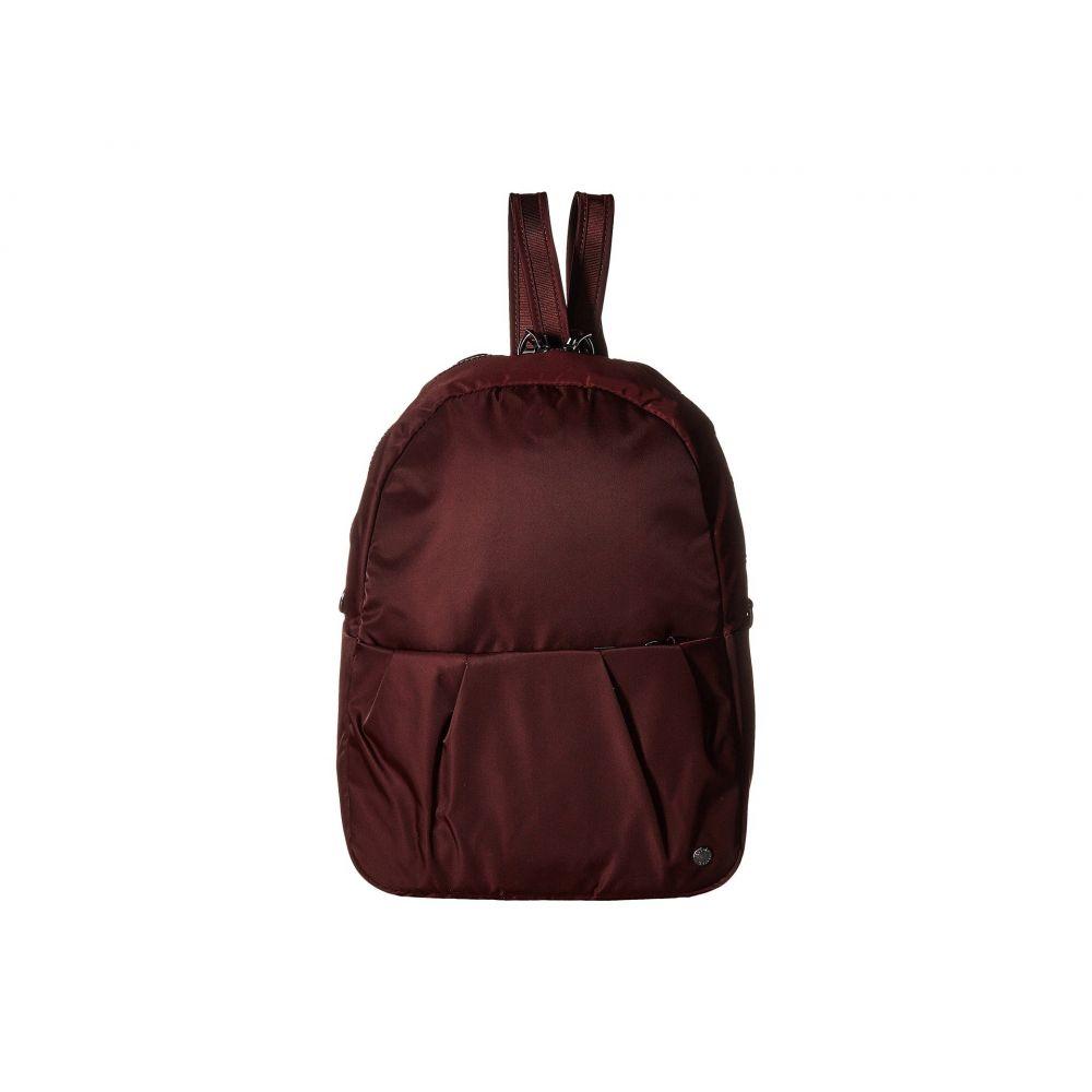 パックセーフ Pacsafe レディース バックパック・リュック バッグ【Citysafe CX Anti-Theft Convertible Backpack to Crossbody】Merlot