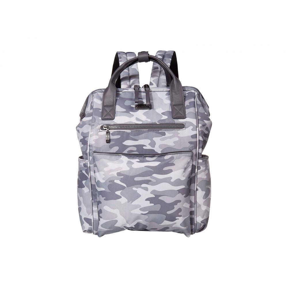 バッガリーニ Baggallini レディース バックパック・リュック バッグ【Soho Backpack】Grey Camo