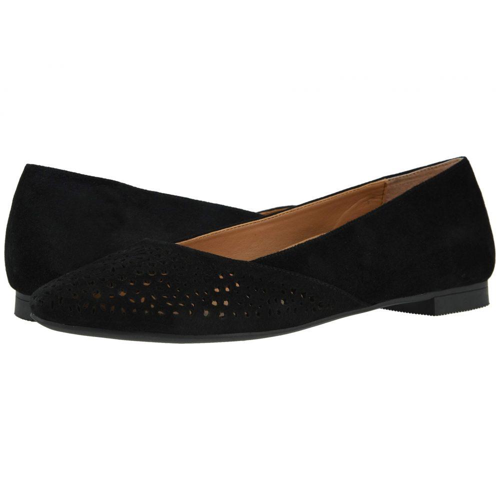 バイオニック VIONIC レディース スリッポン・フラット シューズ・靴【Carmela Perf】Black
