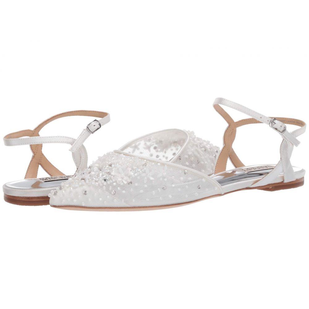 バッジェリー ミシュカ Badgley Mischka レディース スリッポン・フラット シューズ・靴【Carissa】Soft White