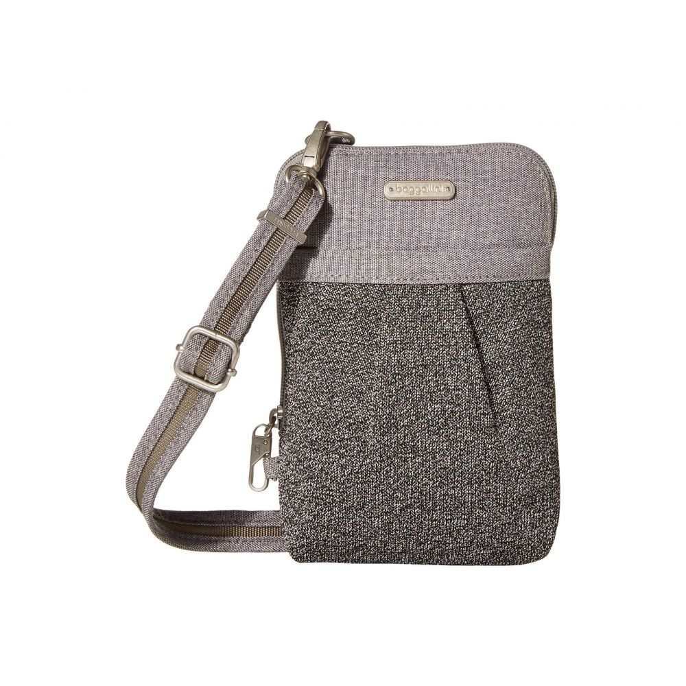 バッガリーニ Baggallini レディース ショルダーバッグ バッグ【Securtex (TM) Anti-Theft Excursion Crossbody Bag】Stone Antitheft