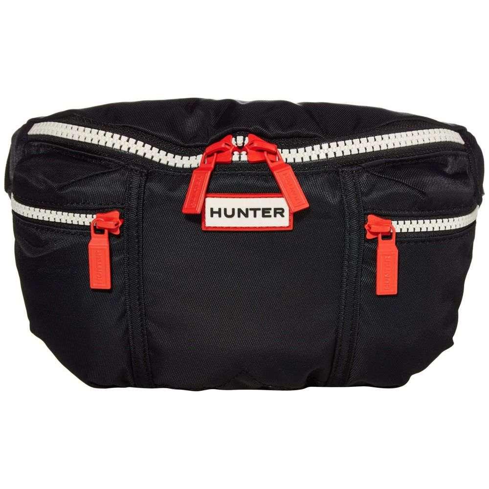 ハンター Hunter レディース ボディバッグ・ウエストポーチ バッグ【Original Nylon Bumbag】Black