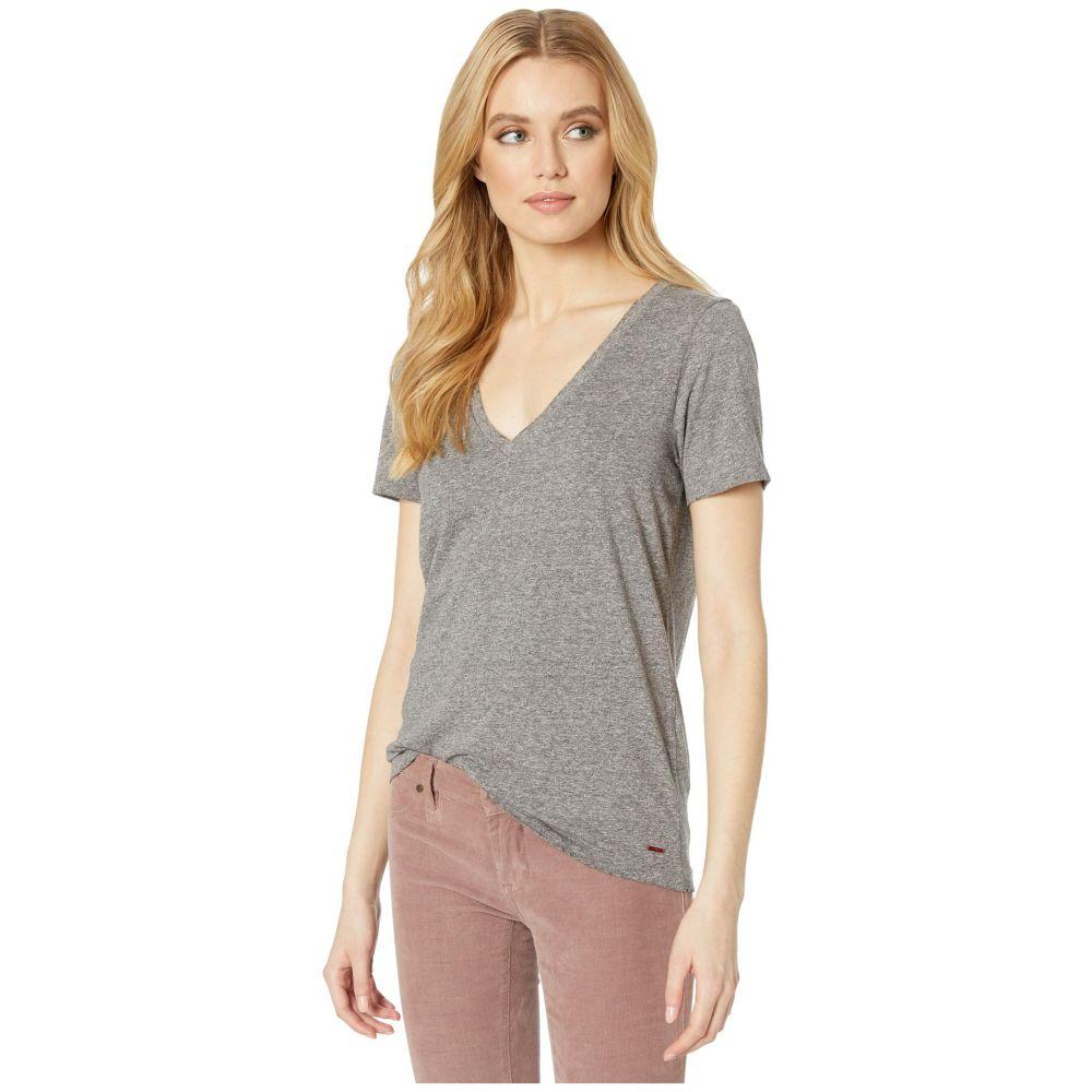 フィランソロピー n:philanthropy レディース Tシャツ Vネック トップス【Mack V-Neck T-Shirt】Heather Grey