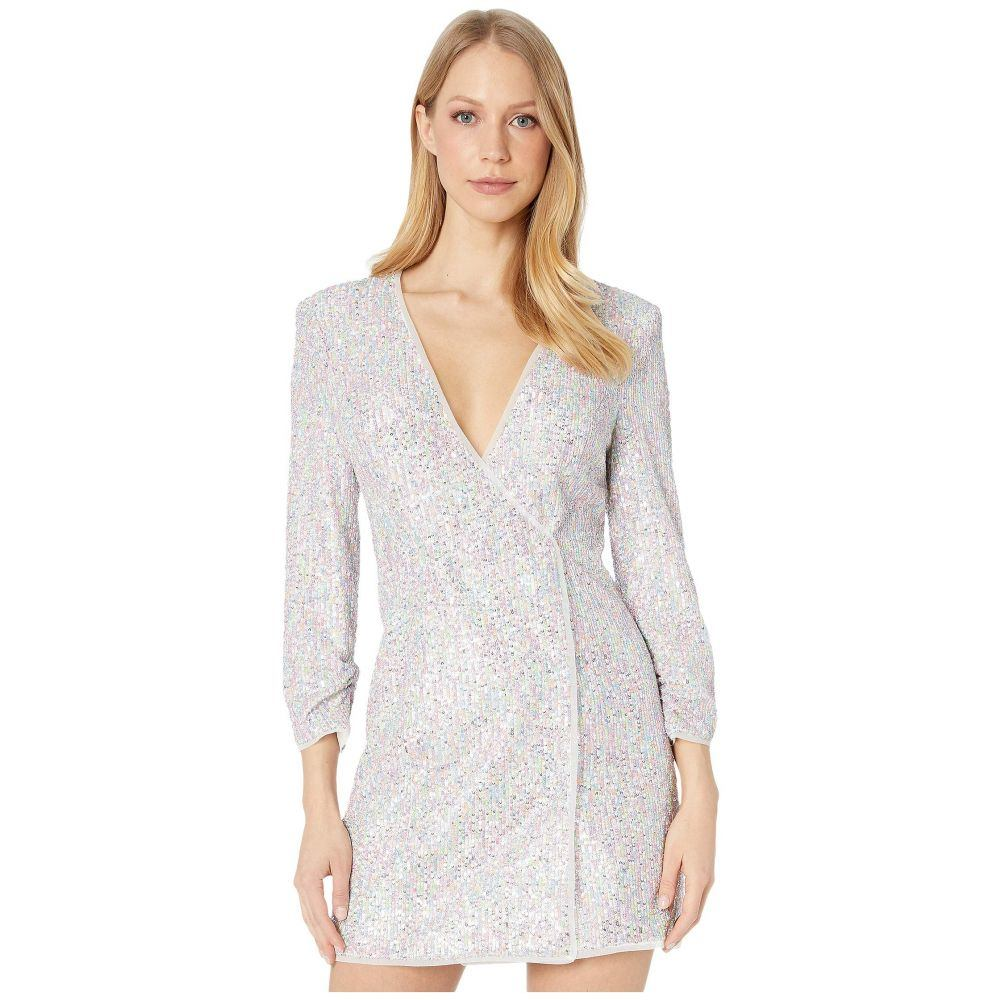 ビーシービージーマックスアズリア BCBGMAXAZRIA レディース ワンピース ワンピース・ドレス【Sequin Dress】French Rose Combo