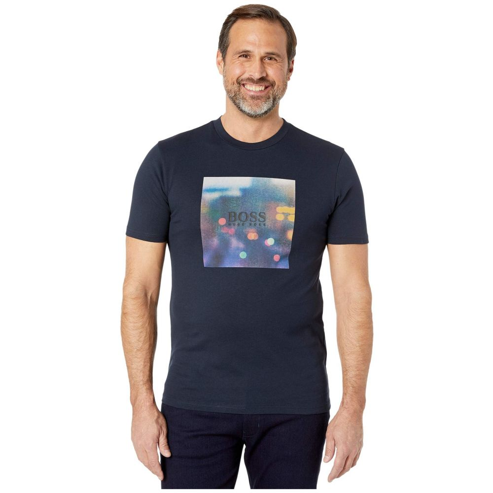 ヒューゴ ボス BOSS Hugo Boss メンズ Tシャツ トップス【TipOff 3】Navy