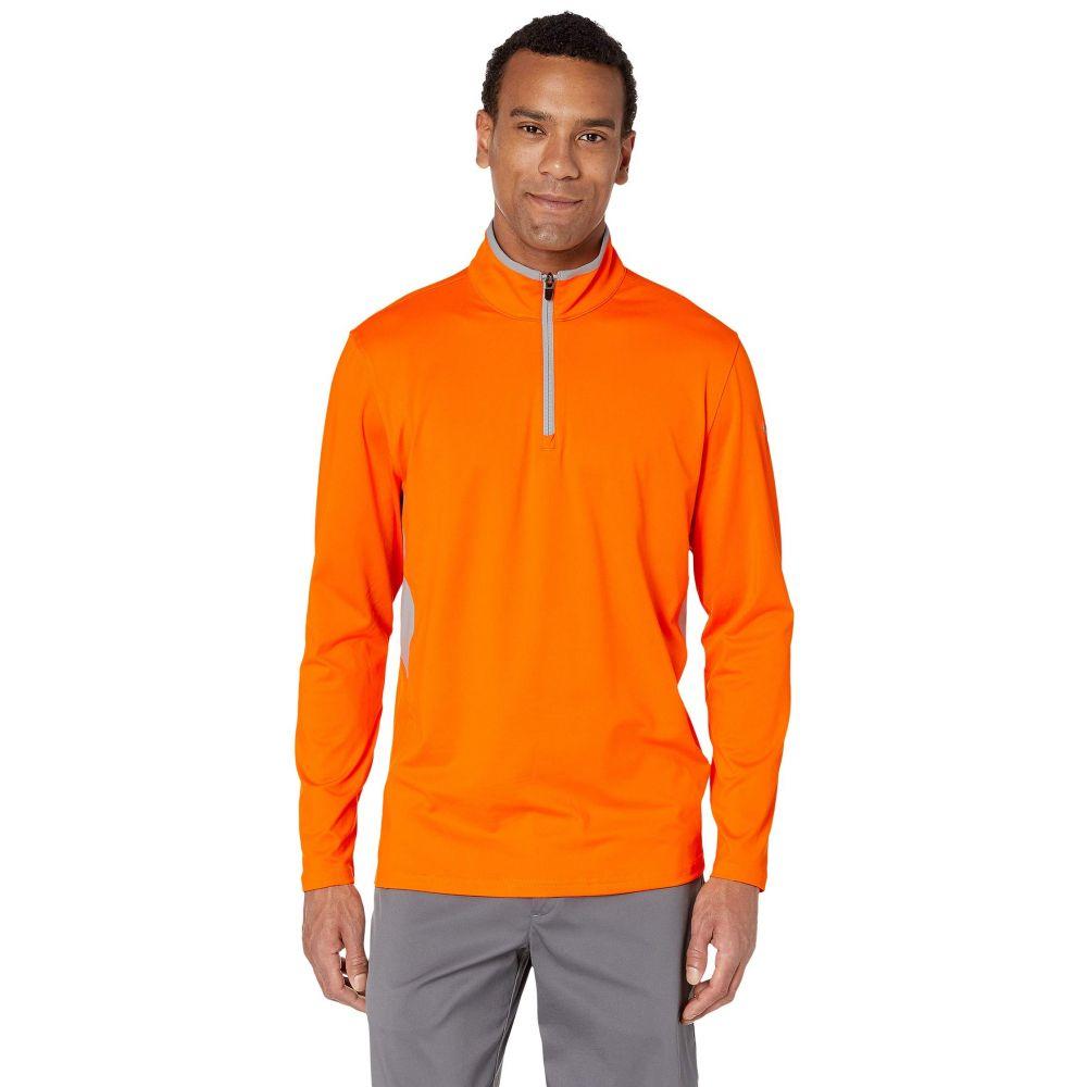 プーマ PUMA Golf メンズ トップス 【Rotation 1/4 Zip】Vibrant Orange