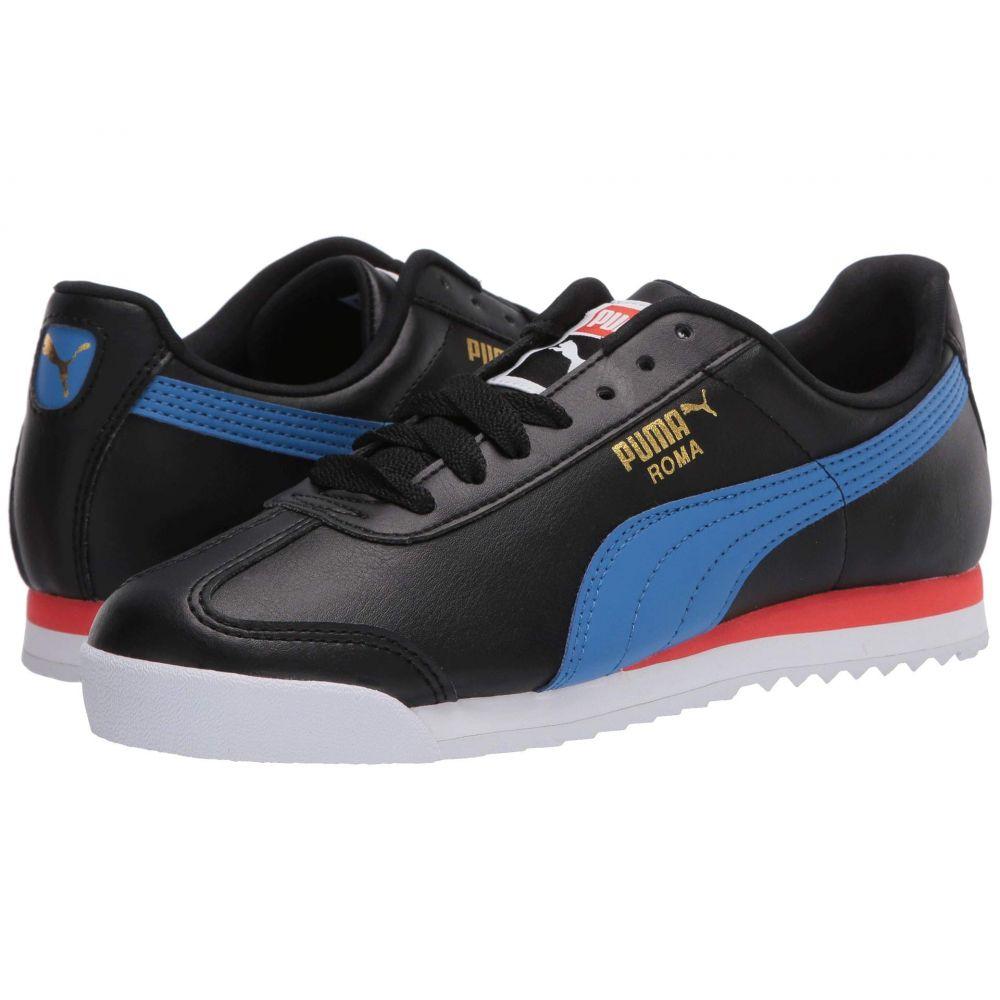 プーマ PUMA メンズ スニーカー シューズ・靴【Roma Basic +】Puma Black/Palace Blue