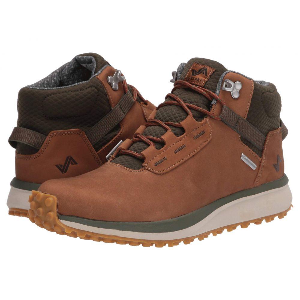 フォーセイク Forsake レディース ハイキング・登山 シューズ・靴【Range High】Brown/Cypress