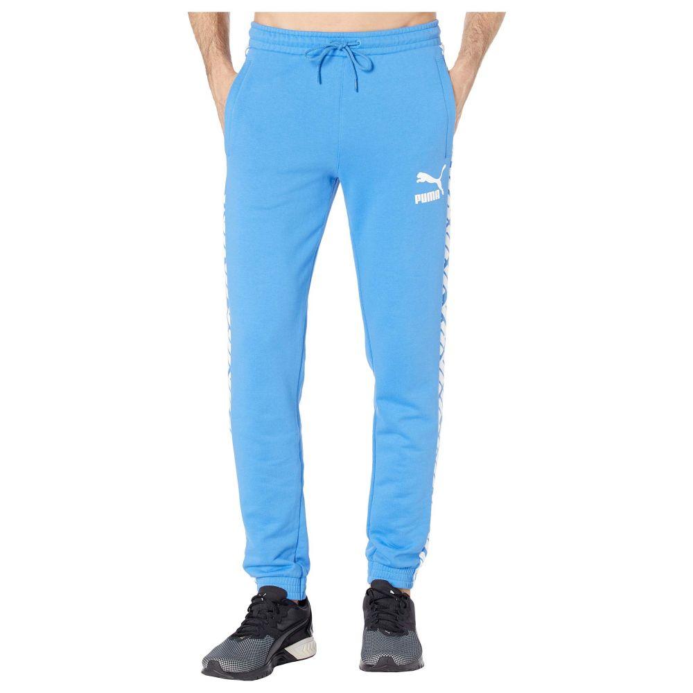 プーマ PUMA メンズ スウェット・ジャージ ボトムス・パンツ【Print T7 Track Pants】Palace Blue