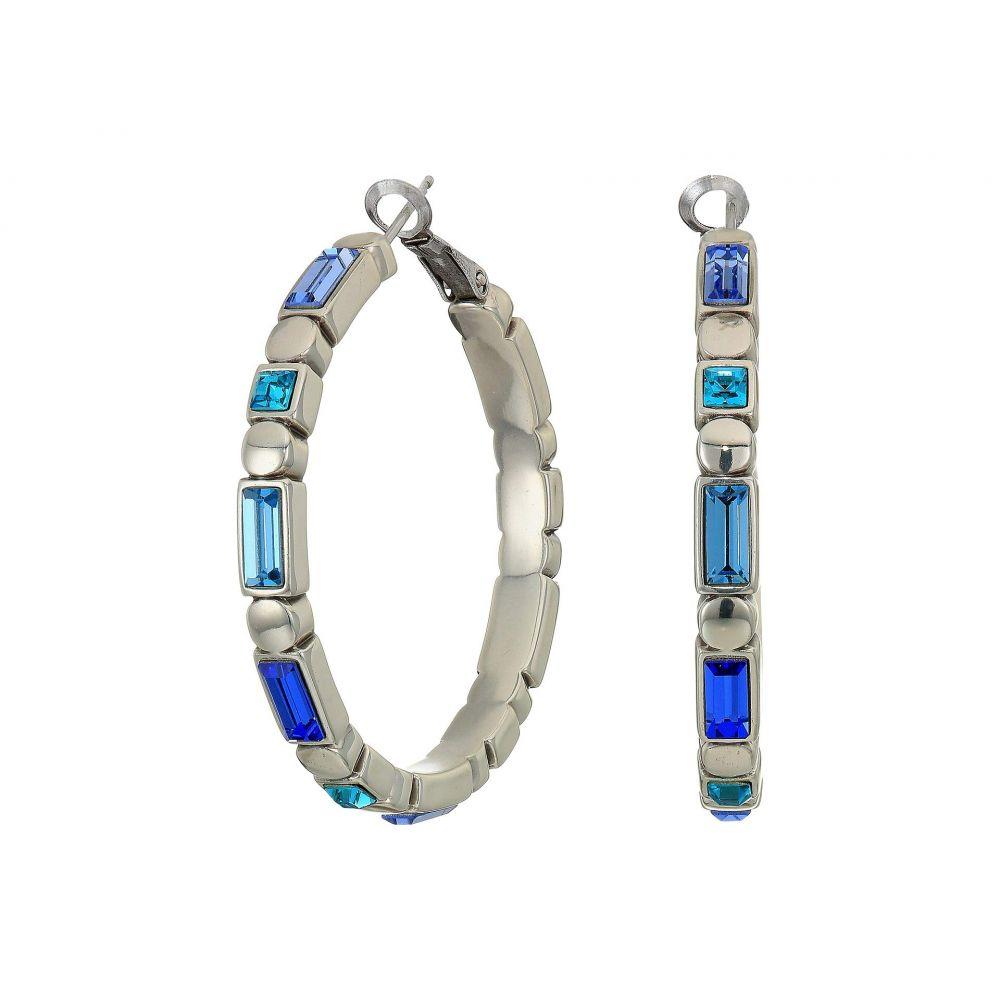ブライトン Brighton レディース イヤリング・ピアス ジュエリー・アクセサリー【Blue Showers Leverback Hoop Earrings】Blue