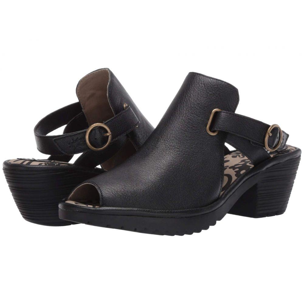フライロンドン FLY LONDON レディース サンダル・ミュール シューズ・靴【WENA137FLY】Black Mousse