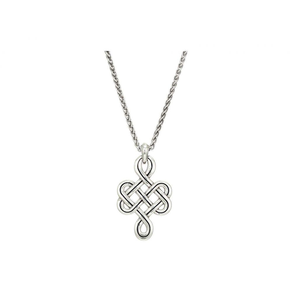 ブライトン Brighton レディース ネックレス ジュエリー・アクセサリー【Interlok Endless Knot Petite Necklace】