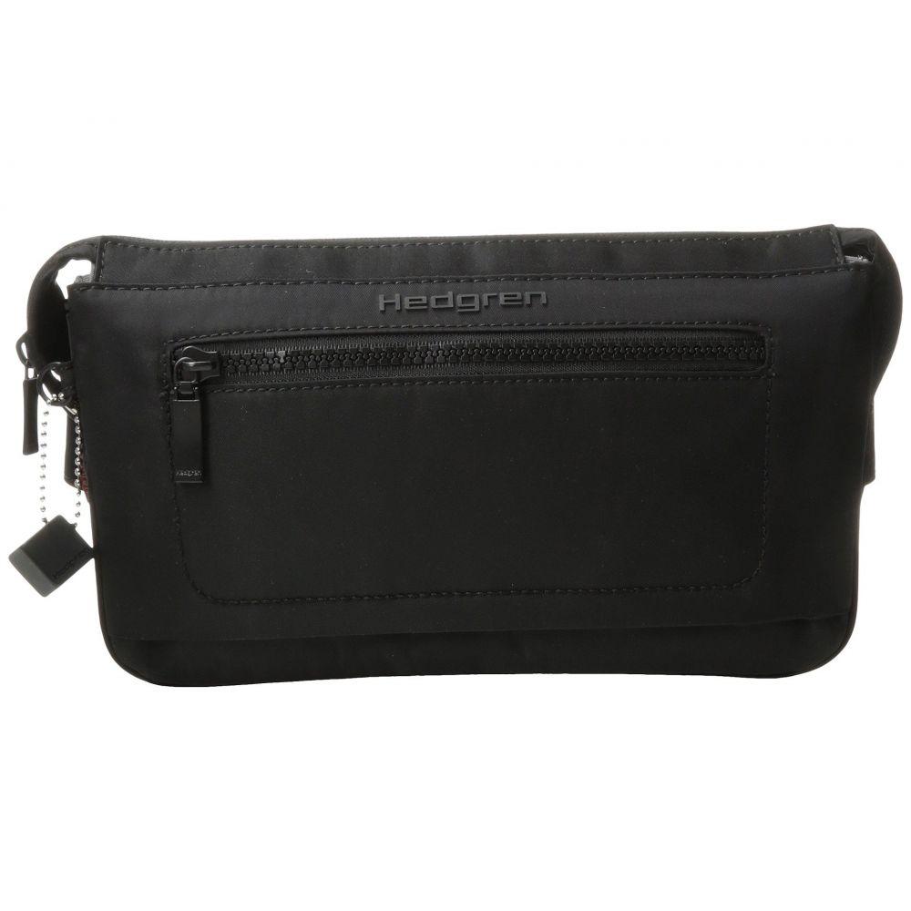 ヘデグレン Hedgren レディース ボディバッグ・ウエストポーチ バッグ【Inter-City Asharum Waistbag RFID】Black