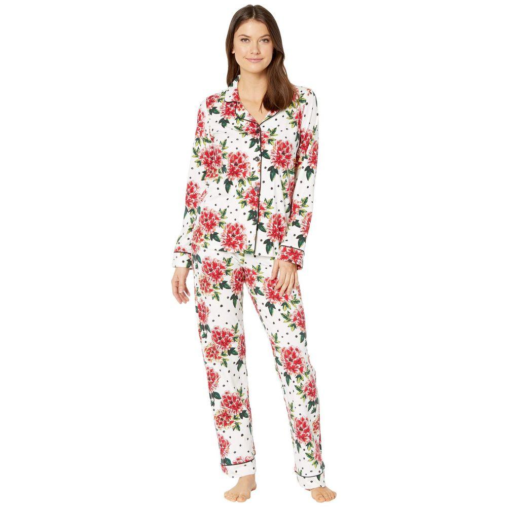 ベッドヘッド BedHead Pajamas レディース パジャマ・上下セット インナー・下着【Long Sleeve Classic Notch Collar Pajama Set】Room To Bloom