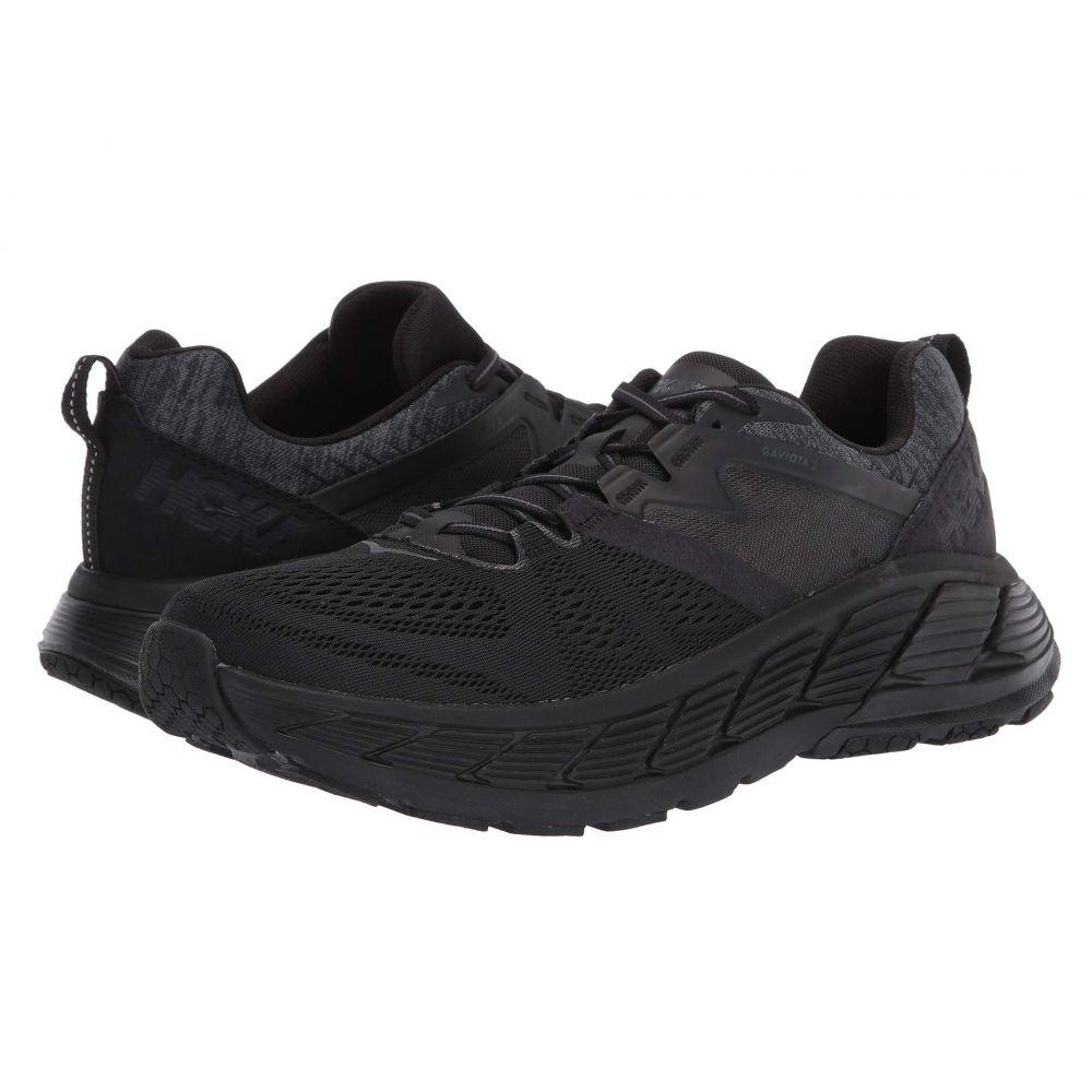 ホカ オネオネ Hoka One One メンズ ランニング・ウォーキング シューズ・靴【Gaviota 2】Black/Dark Shadow