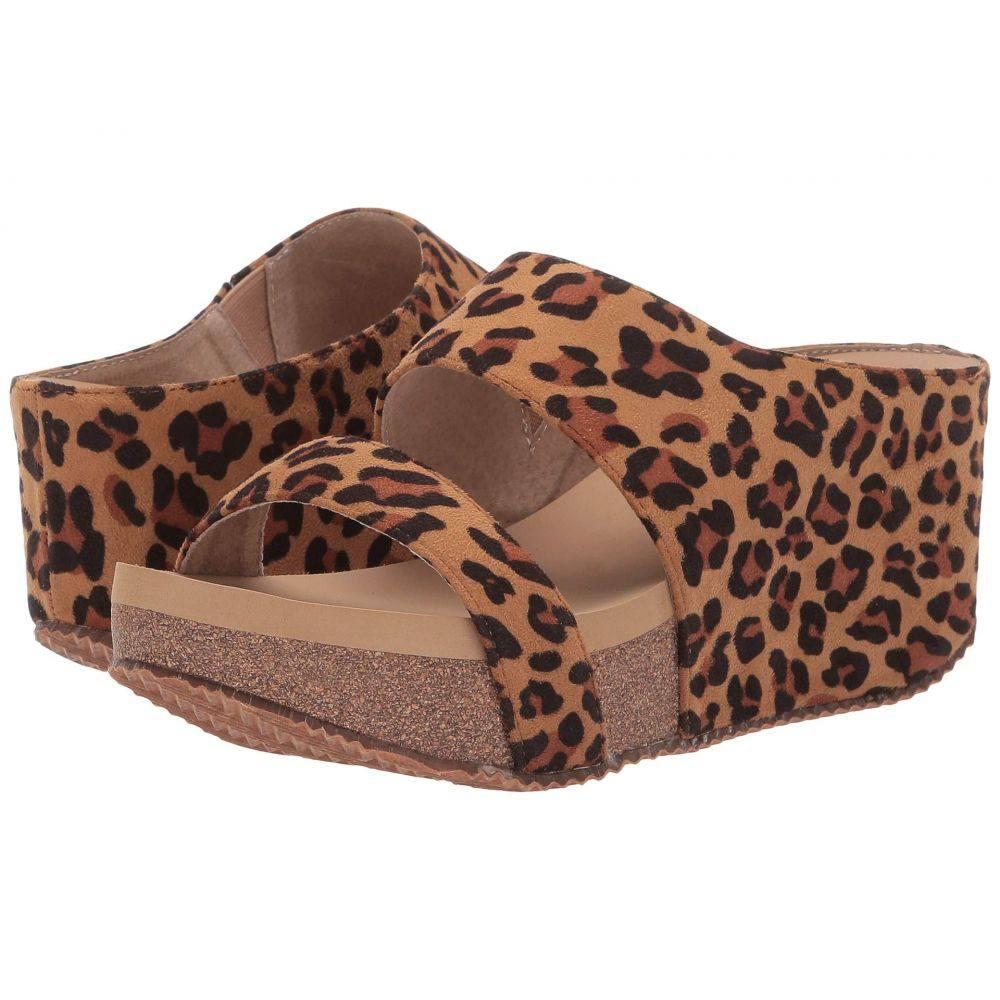 ボラティル VOLATILE レディース サンダル・ミュール シューズ・靴【Chic】Tan/Leopard