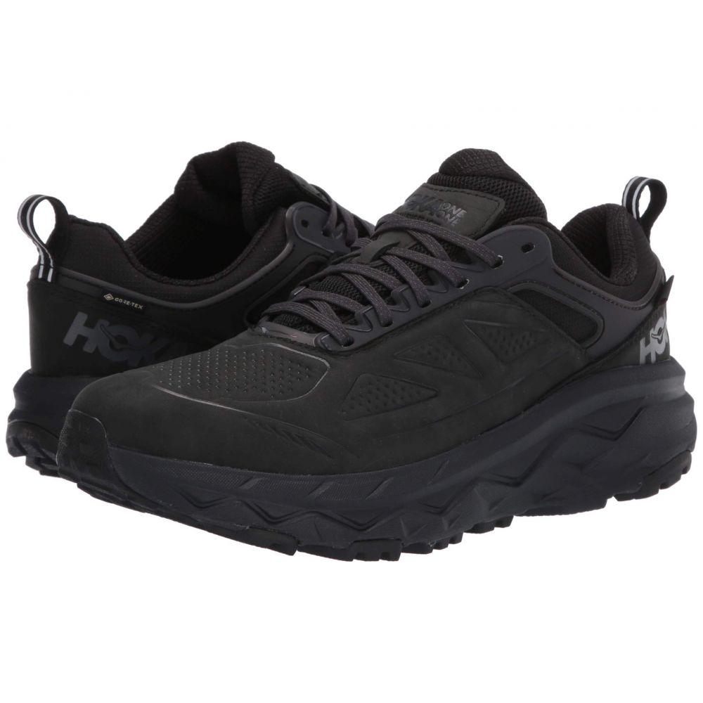 ホカ オネオネ Hoka One One メンズ ランニング・ウォーキング シューズ・靴【Challenger Low GORE-TEX】Black