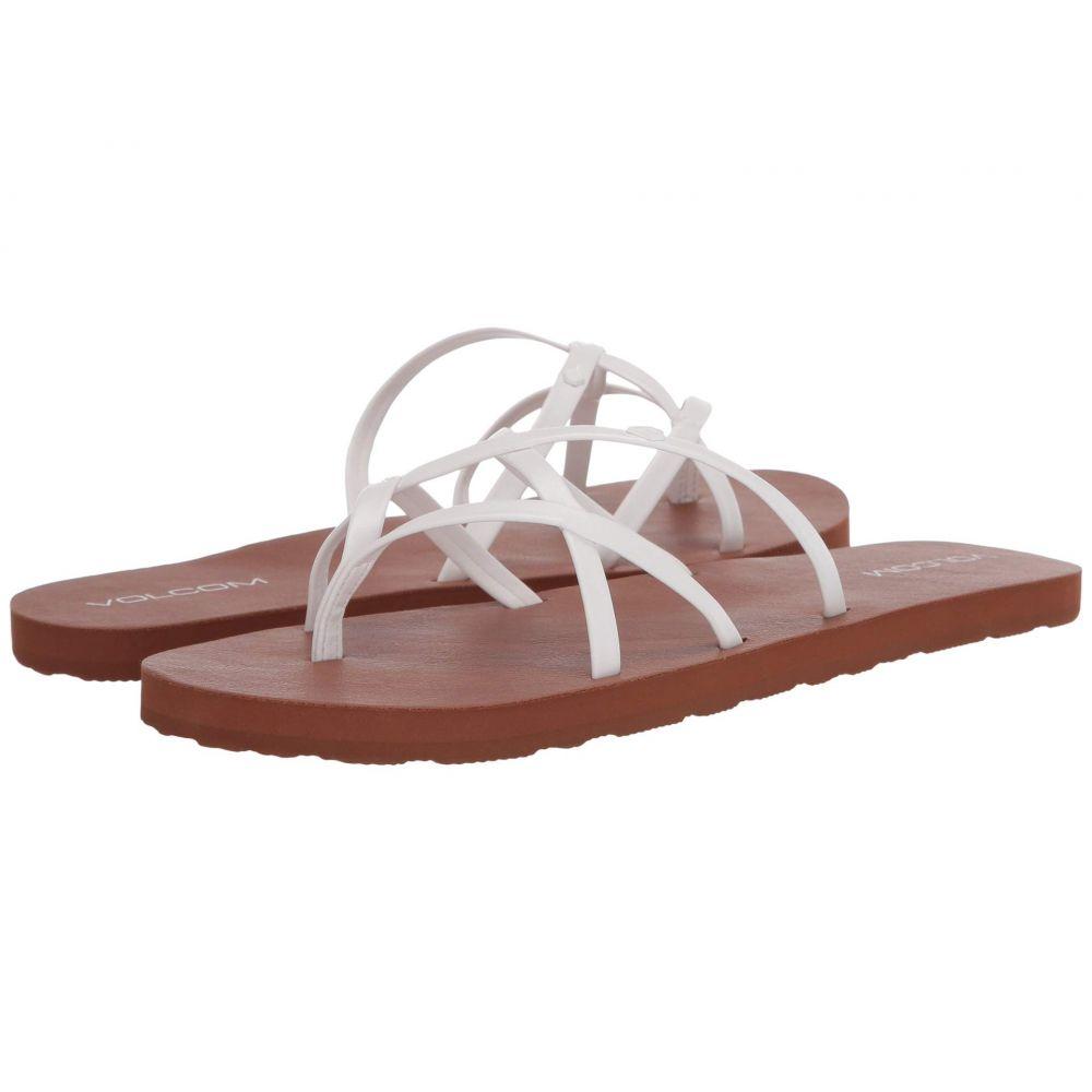 ボルコム Volcom レディース サンダル・ミュール シューズ・靴【New School II】White