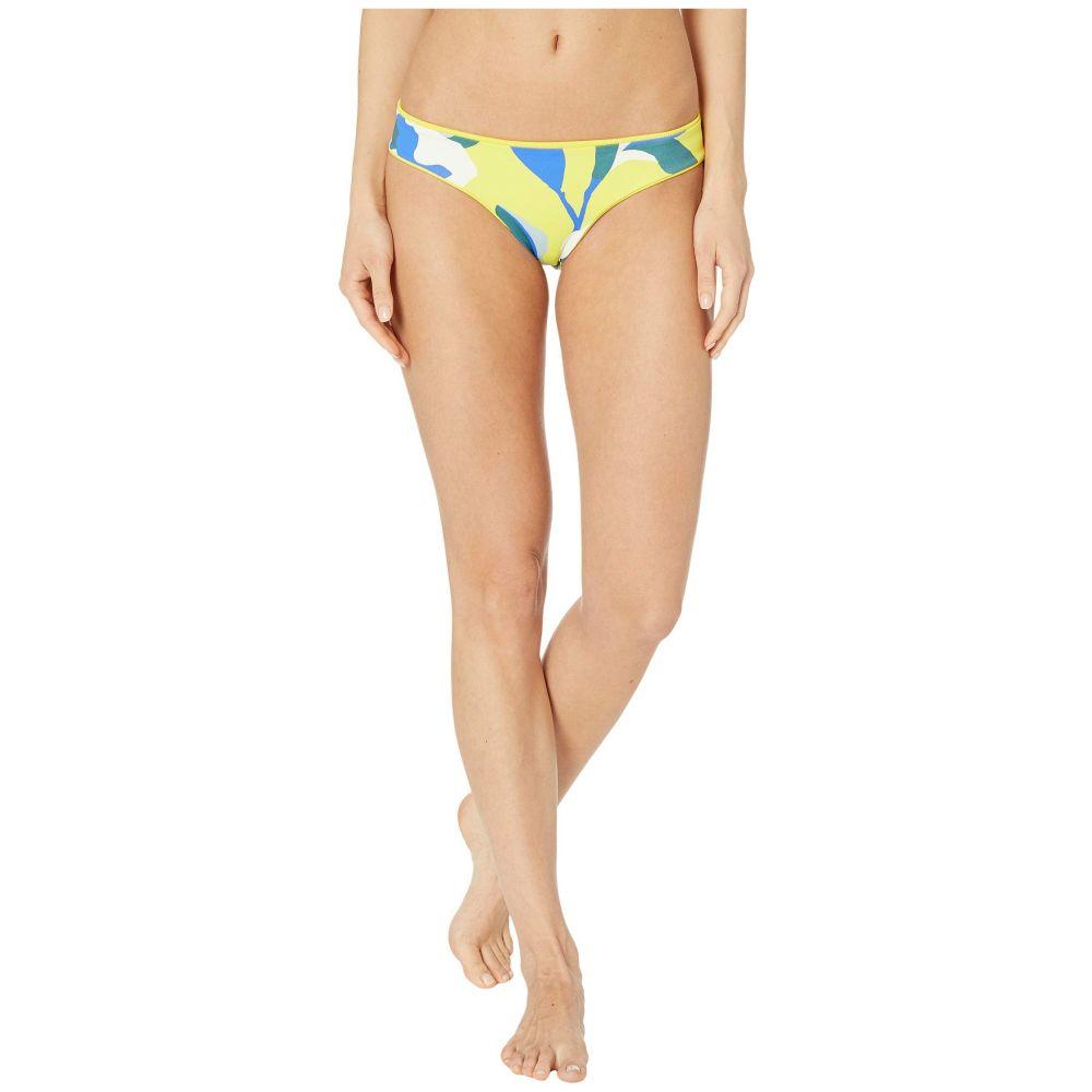 マージ Maaji レディース ボトムのみ 水着・ビーチウェア【Sublime Reversible Signature Coverage Bikini Bottoms】Submarine Yellow Rib