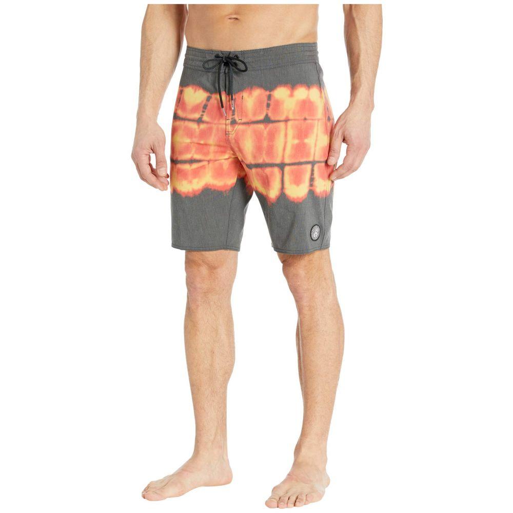 ボルコム Volcom メンズ 海パン 水着・ビーチウェア【Trip Trip Stoney 19' Boardshorts】Black