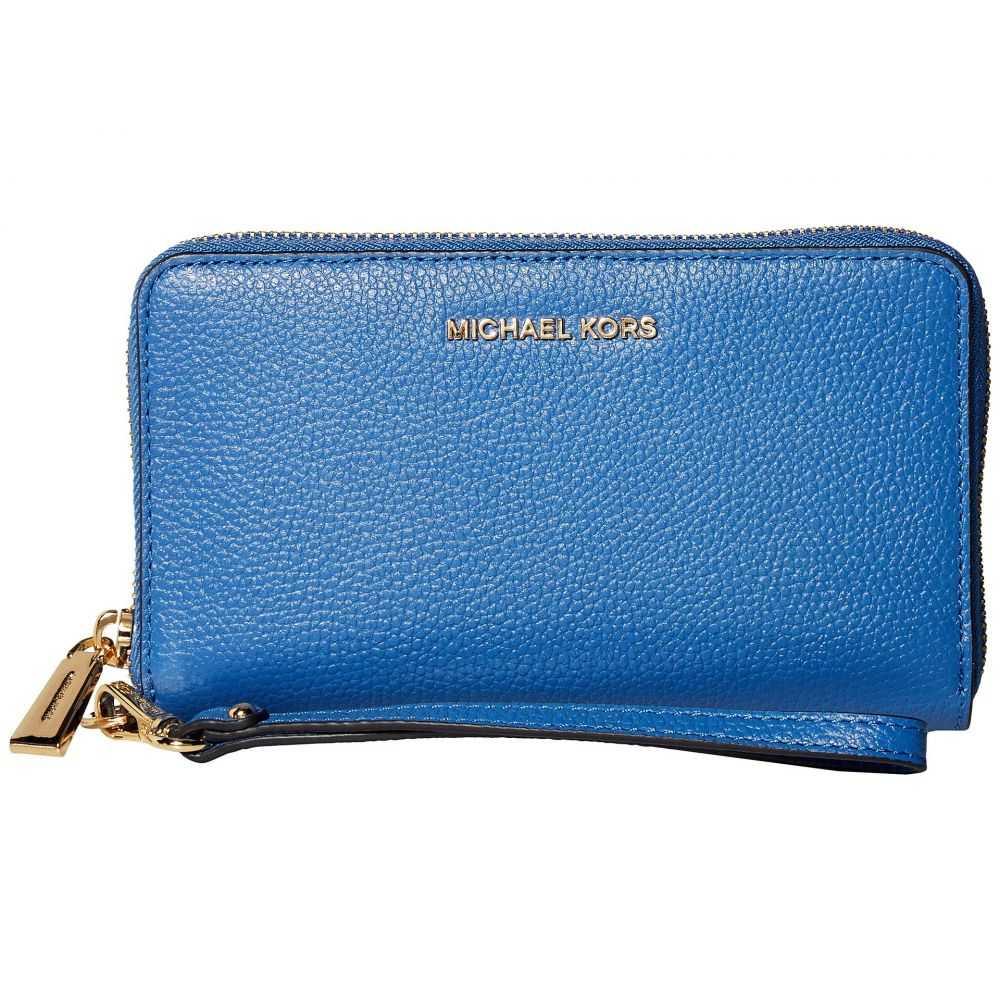 マイケル コース MICHAEL Michael Kors レディース スマホケース 【Large Flat Multifunction Phone Case】Vintage Blue