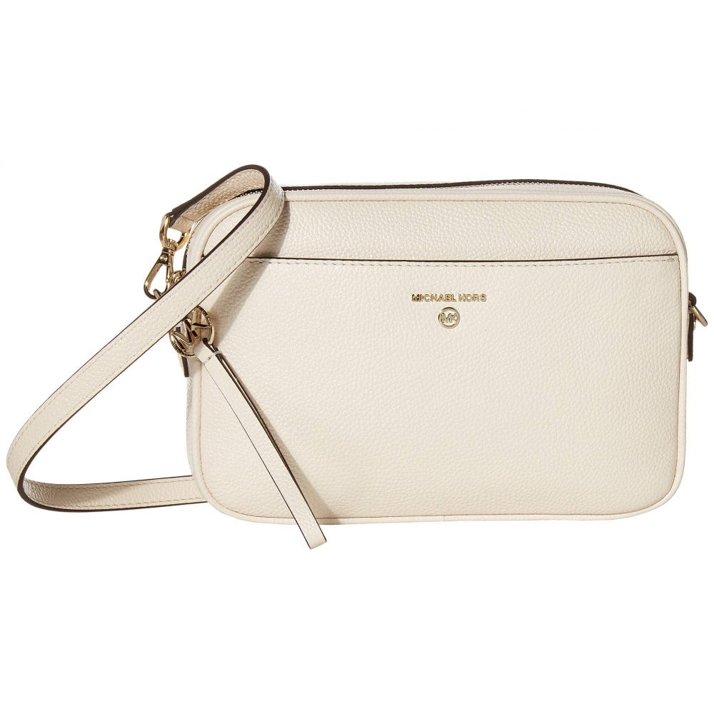 マイケル コース MICHAEL Michael Kors レディース ショルダーバッグ バッグ【Jet Set Charm Large East/West Camera Crossbody】Light Cream