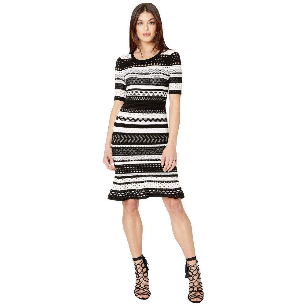 ミリー Milly レディース ワンピース ポインテール ワンピース・ドレス【Pointelle Mermaid Dress】Black/White