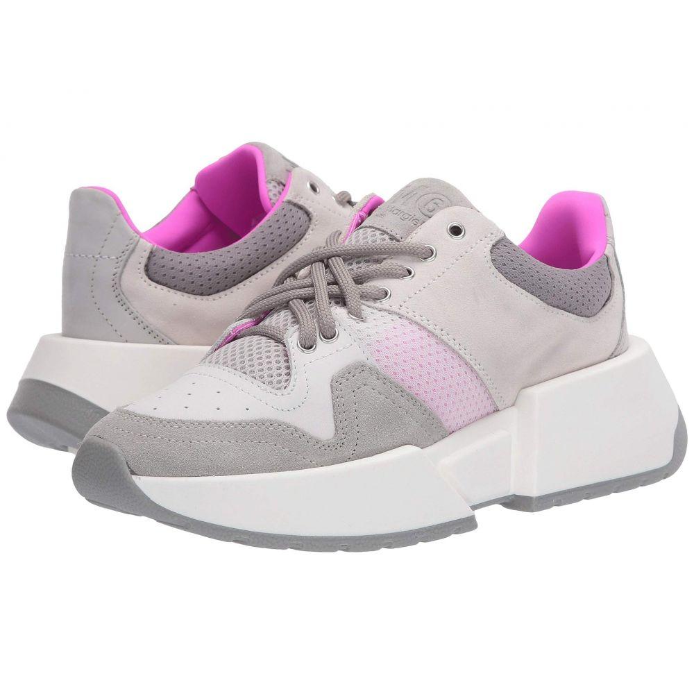 メゾン マルジェラ MM6 Maison Margiela レディース スニーカー シューズ・靴【Big Sole Mixed Sneaker】Mineral Gray/Birch