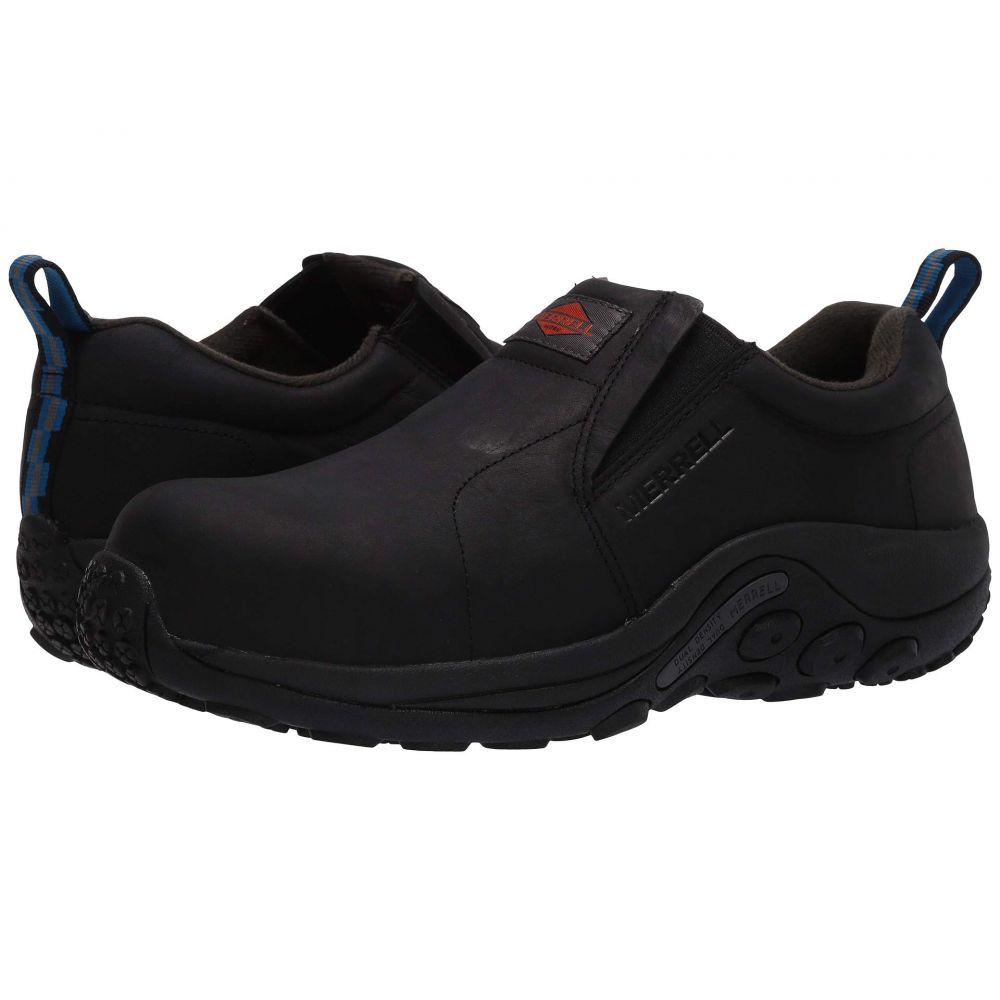 メレル Merrell Work メンズ シューズ・靴 【Jungle Moc Leather Composite Toe】Black