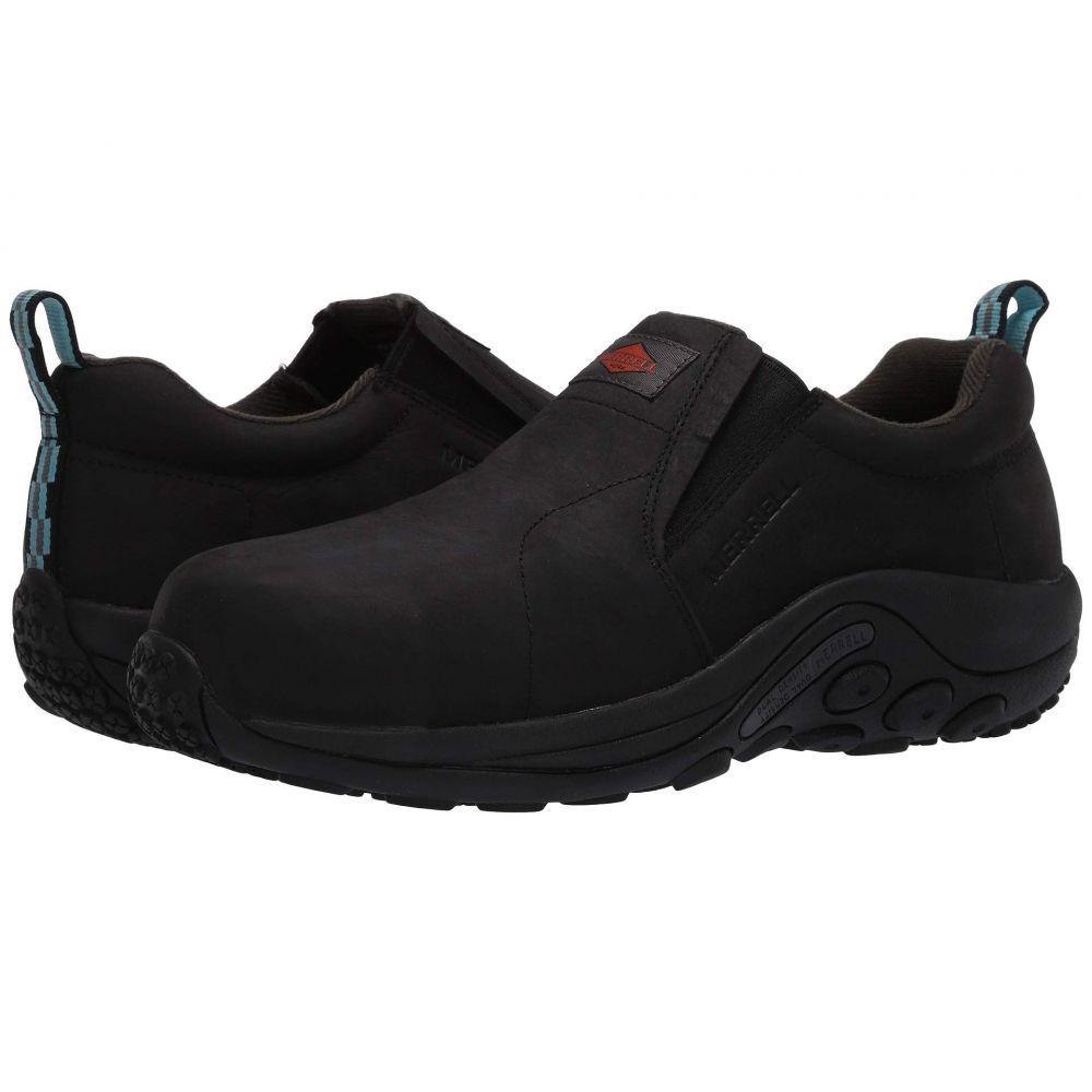 メレル Merrell Work レディース シューズ・靴 【Jungle Moc Leather Composite Toe】Black