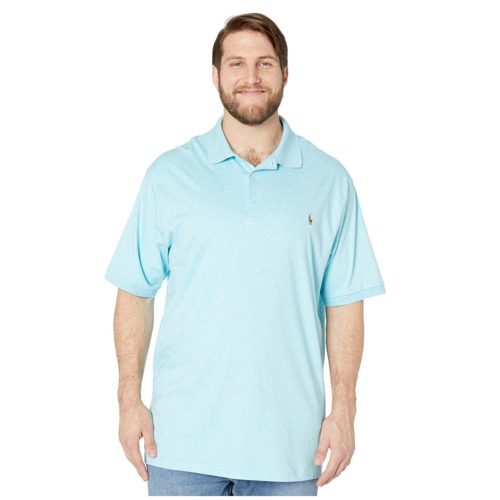 ラルフ ローレン Polo Ralph Lauren Big & Tall メンズ ポロシャツ 大きいサイズ トップス【Big & Tall Soft Touch Polo】Beach Aqua Heather