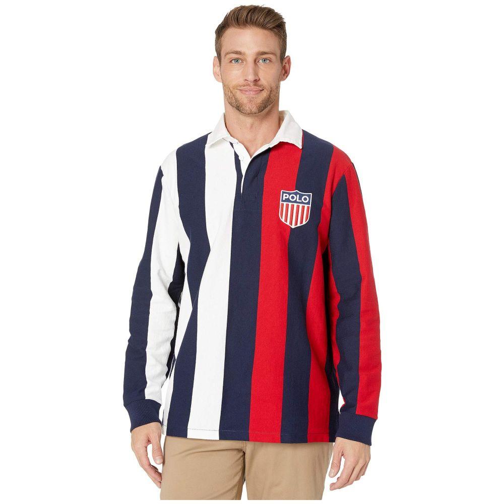 ラルフ ローレン Polo Ralph Lauren メンズ ポロシャツ トップス【Active Rugby Polo】White Multi