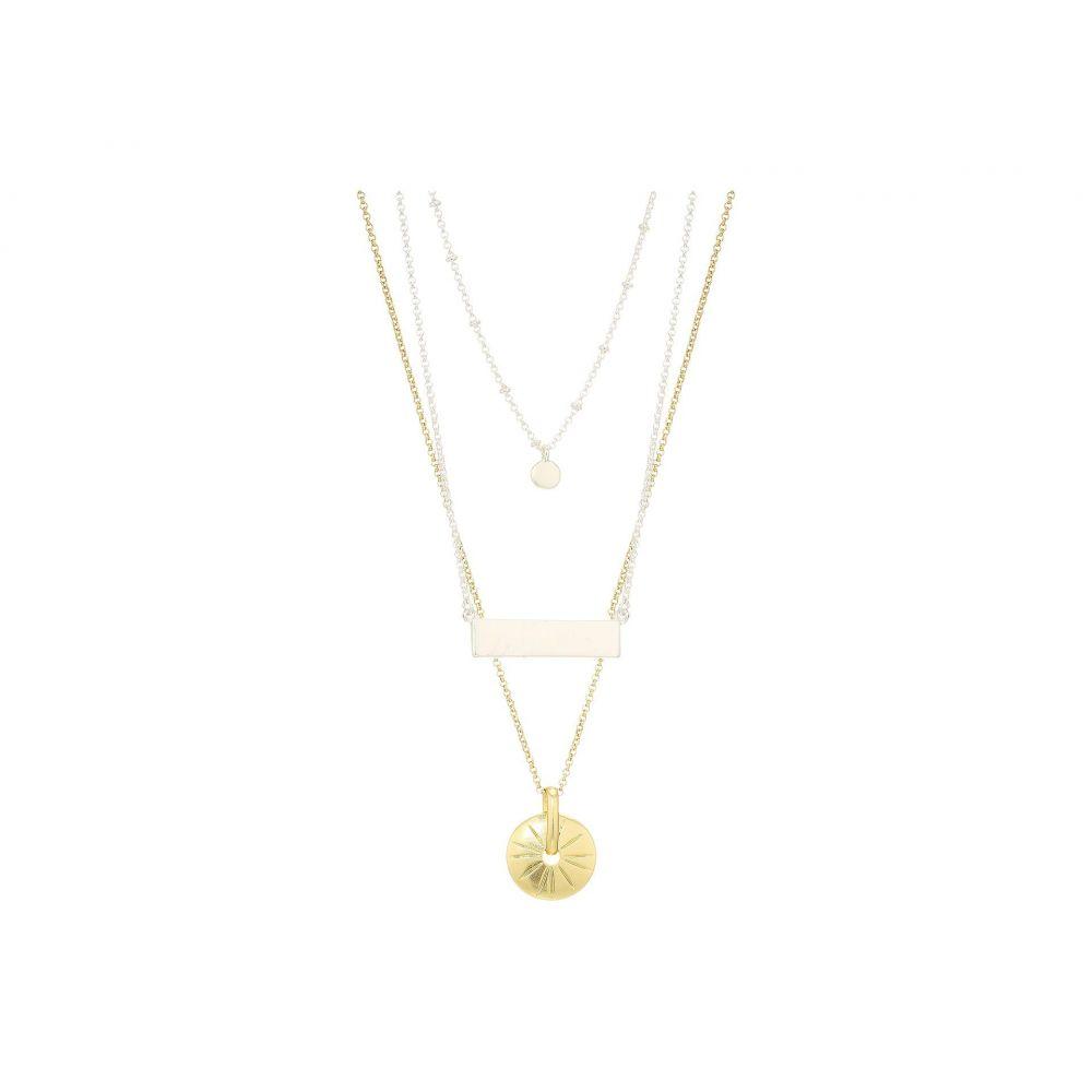 ラッキーブランド Lucky Brand レディース ネックレス ジュエリー・アクセサリー【Layer Necklace】Two-Tone