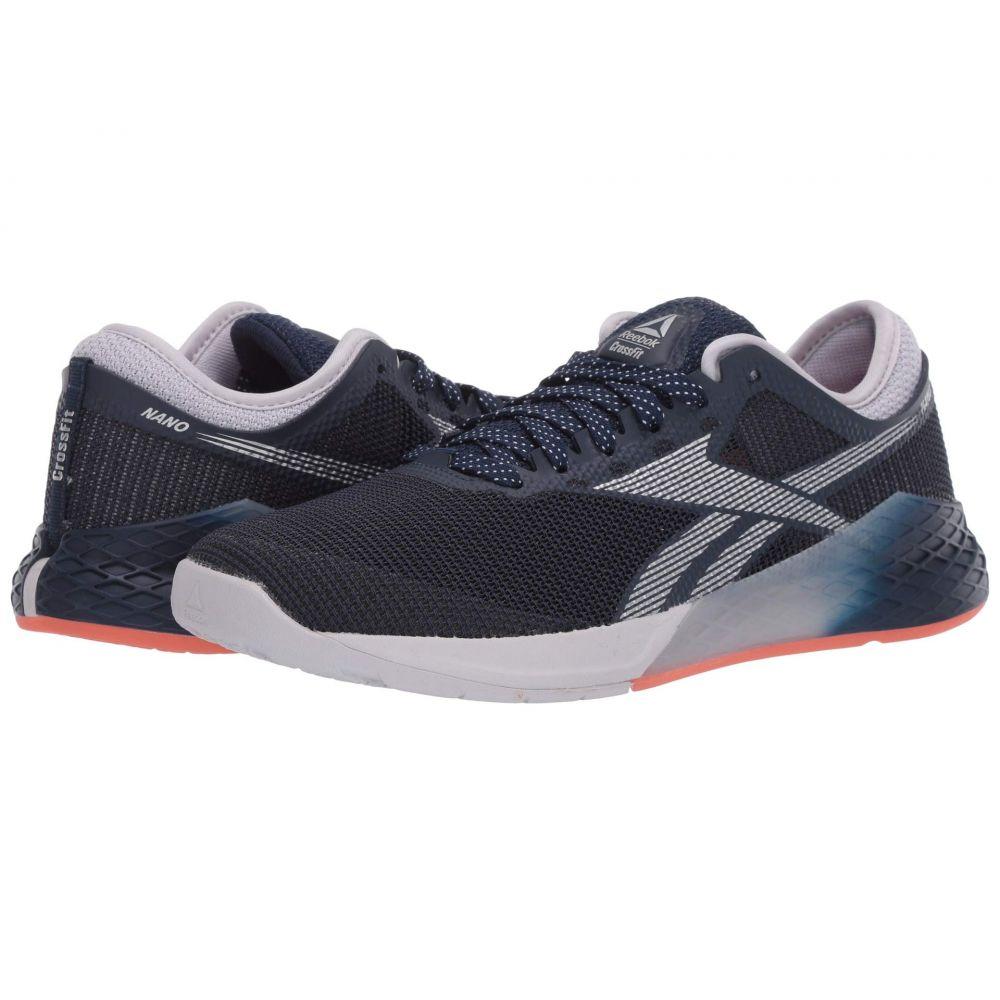リーボック Reebok レディース スニーカー シューズ・靴【Nano 9】Collegiate Navy/Sterling Grey/Vivid Orange