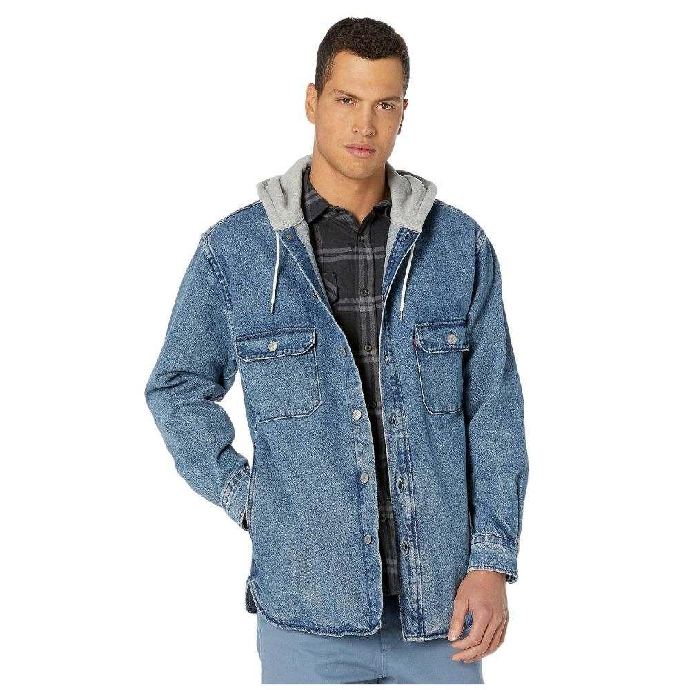 リーバイス Levi's Premium メンズ ジャケット オーバーシャツ アウター【Hooded Jackson Overshirt】Gear Box