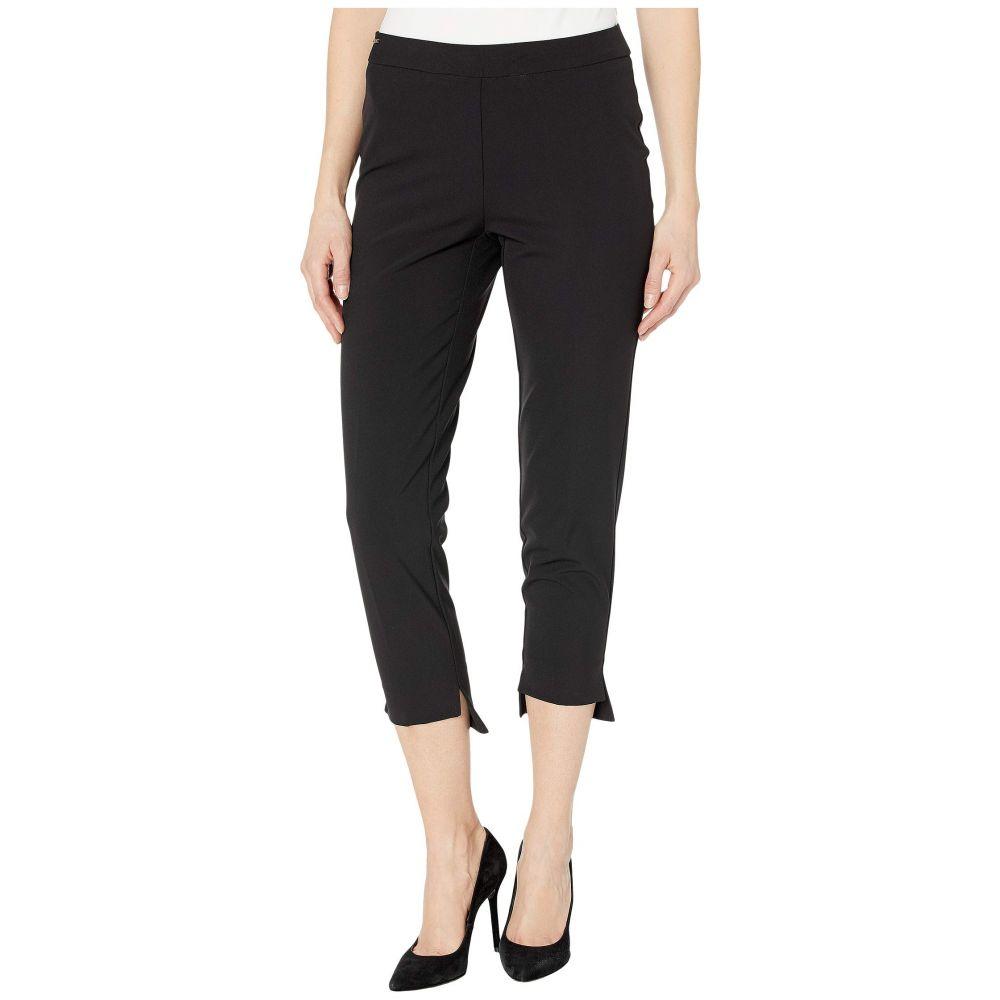 リゼッタ Lisette L Montreal レディース クロップド ボトムス・パンツ【Mila Stretch Fabric Pull-On Step Hem Crop Pants】Black