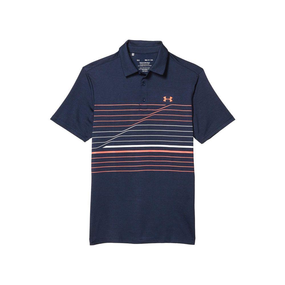 アンダーアーマー Under Armour Golf メンズ ポロシャツ トップス【Playoff Polo 2.0】Academy/White/Beta