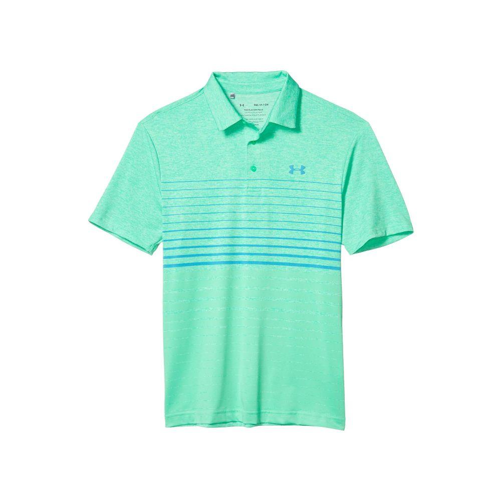 アンダーアーマー Under Armour Golf メンズ ポロシャツ トップス【Playoff Polo 2.0】Vapor Green/Vapor Green/Escape