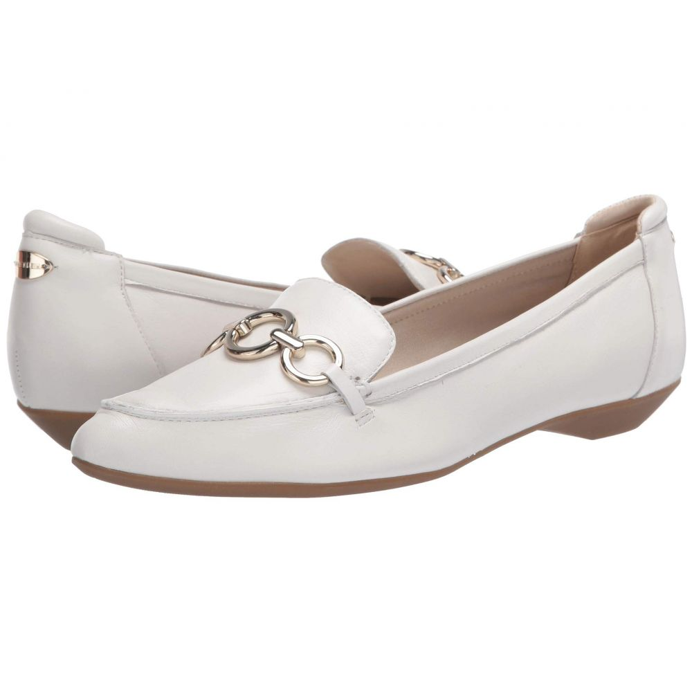 アン クライン Anne Klein レディース ローファー・オックスフォード シューズ・靴【Ola】White