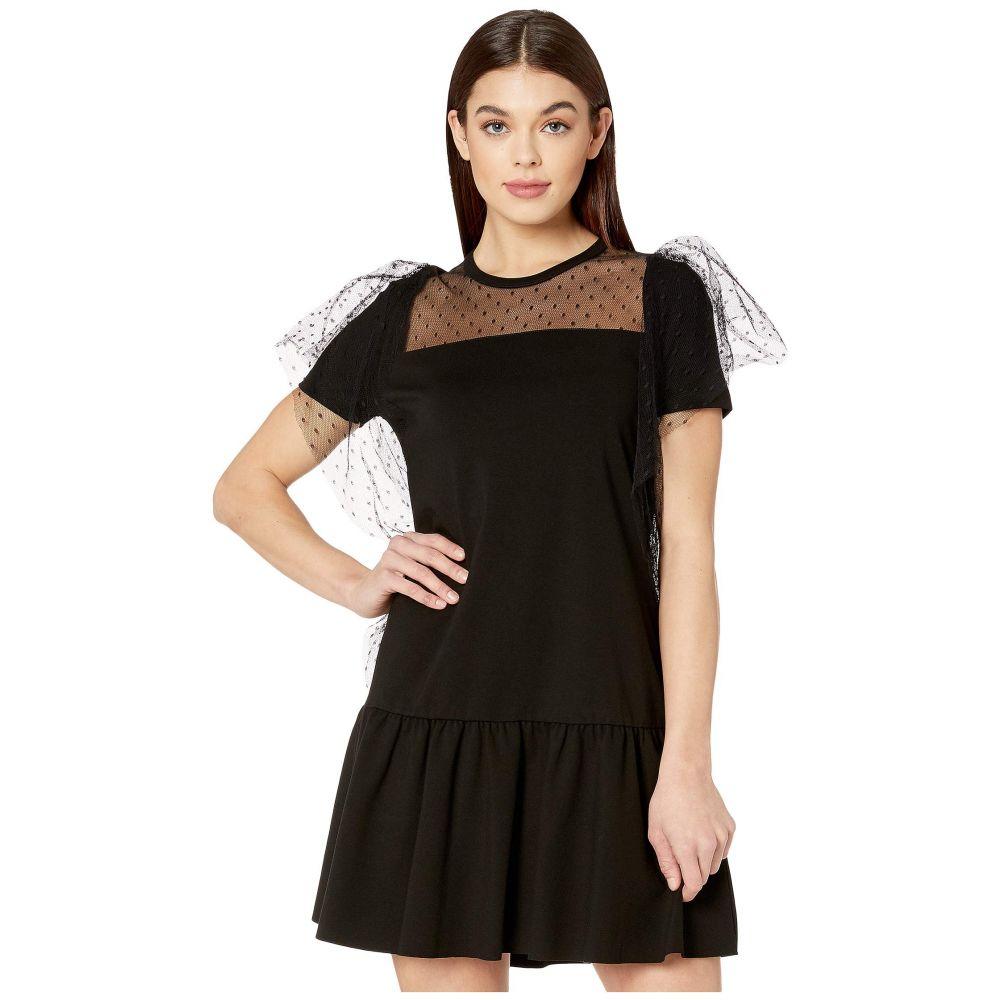 ヴァレンティノ RED VALENTINO レディース ワンピース ワンピース・ドレス【Milano Stitch Trapeze Dress】Black