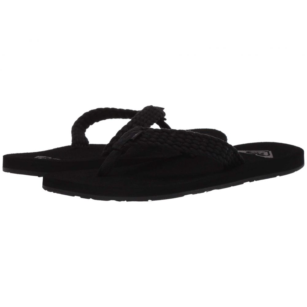ロキシー Roxy レディース ビーチサンダル シューズ・靴【Porto III】Black