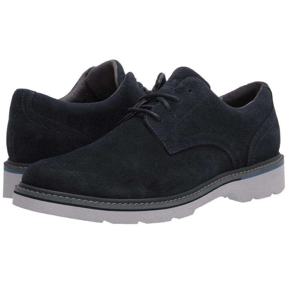 ロックポート Rockport メンズ 革靴・ビジネスシューズ シューズ・靴【Charlee Plain Toe】Navy Suede