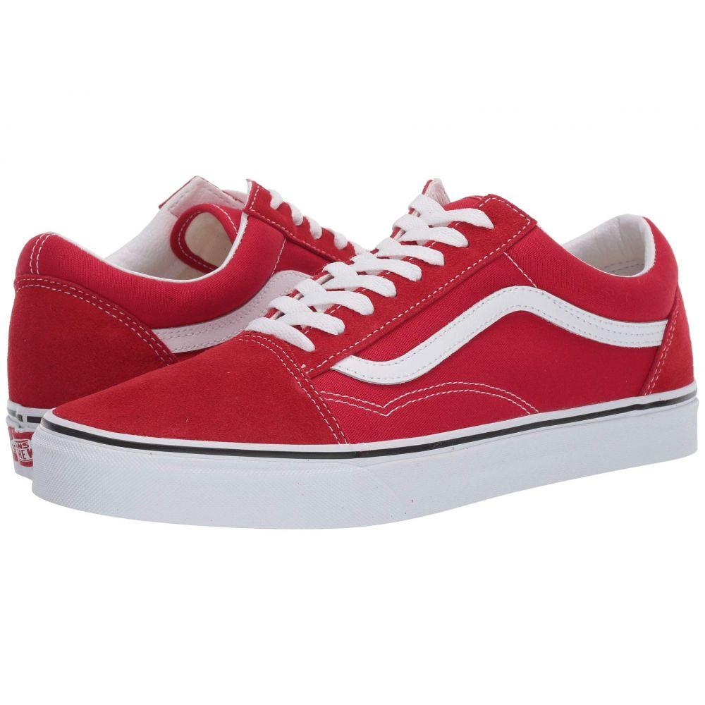 ヴァンズ Vans レディース スニーカー シューズ・靴【Old Skool(TM) Core Classics】Racing Red/True White